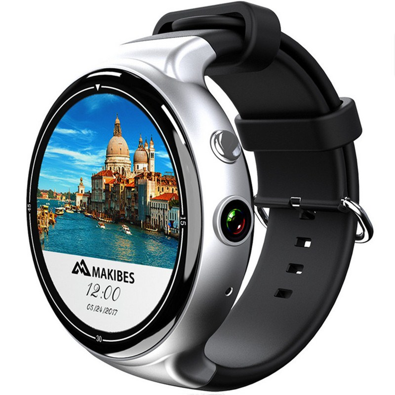 Android OS Smart Watch Amoled Round Screen 3G Wifi GPS Google Maps Smartwatch 2G 16G SIM Card Phone HD Camera Heart Rare Monitor hot sale smart watch charming l6 sim card ips round screen stainless steel bluetooth smartwatch push or ios android phone high