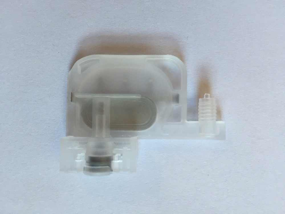Printer Parts 100 pcs Transparent Small Damper with Square Type for Mut0h RJ-8000//8100//900C//1304E Printer
