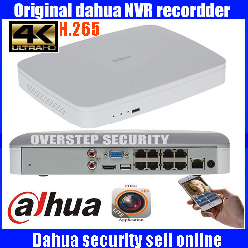 Original MUtil language DAHUA POE DH NVR4108 8P 4ks2 NVR4108 8P 4KS2 NVR with 8 poe