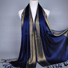Plain fashoin printe glitter tassels cotton lurex plaid stripe scarf long hijab muslim scarves