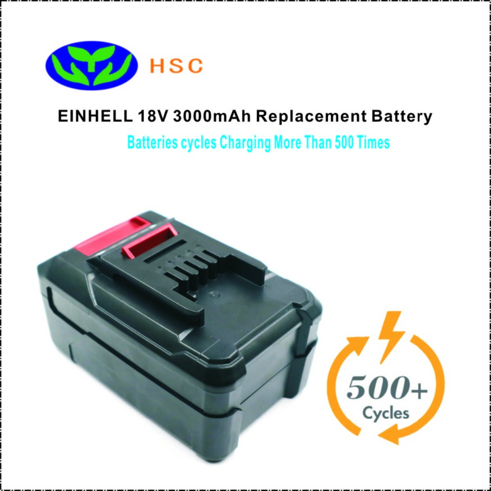 18650 Battery Composition EIN18C2 3Ah 18V Li ion Battery Pack Replacement EINHELL PXBP 300 PXBP 600