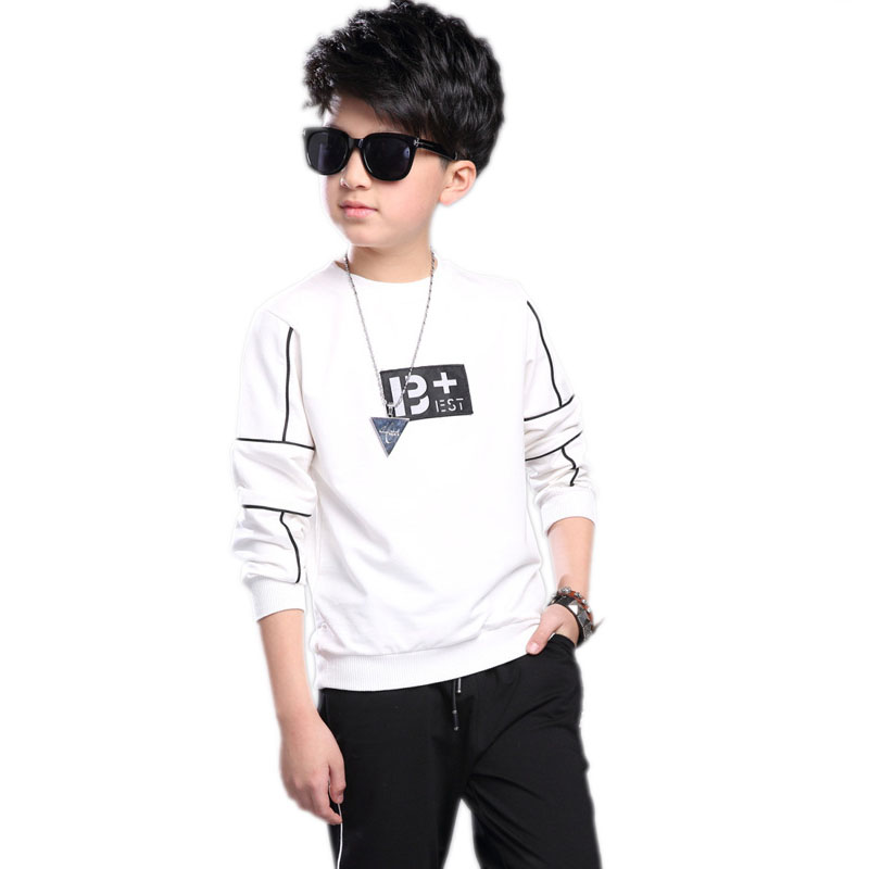 Boys Tracksuit 2017 Spring Children Clothing Sets Letter Printed Hoodies&Sweatshirt+Pants Sport Suit Boy Clothes Set Costumes