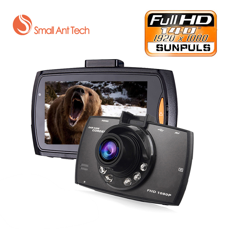 Mini 2.4 Full HD 1080 p Car DVR 140degre Wide Angle TFT LCD Car dvrs Dash Camera Video Cam Recorder Night Vision G-Sensor Black