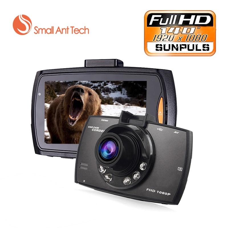 "imágenes para Mini 2.7 ""Full HD 1080 p Coche DVR 140 TFT LCD de Gran Angular degre coche dvr Cámara de la Rociada Registrador de la Leva de La Visión Nocturna Del G-sensor de Vídeo Negro"