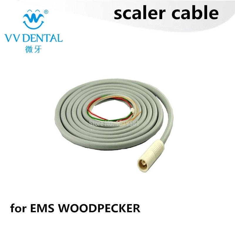 2 pcs EMS kabel scaler peralatan gigi dengan lembut, stabil, kabel SCALER tahan lama dan SCALER CORD gigi