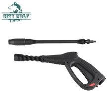 Hogedrukreiniger spray waterpistool snelkoppeling adapter voor lavor huter sterwin auto washer stad wolf schoonmaken tool