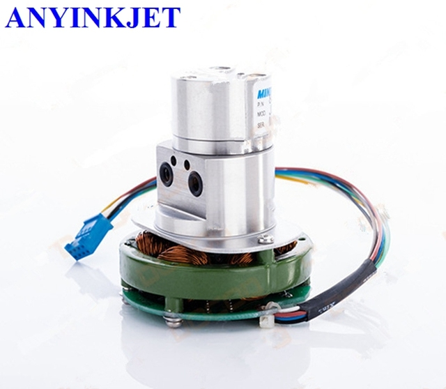 Bomba para Videojet negro bomba de tinta con motor WB PP0228 para Videojet VJ1510 VJ1520 VJ1210 VJ1220 VJ1610 VJ1620 VJ1710 etc impresora