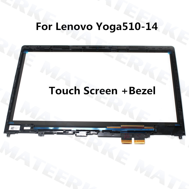 Original 14 inch For LENOVO Yoga510-14 Yoga 510-14 Yoga 510 14 Laptop Touch Screen Digitizer Glass Sensor Replacement цена 2017