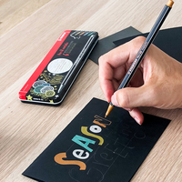Stabilo marcador de arte avançado marcadores de cor metálica marcadores copic artista marcadores oleosos 1.4mm redondo desenho marcadores suprimentos de arte