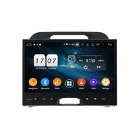 ROM 64G Android 9.0 For KIA Sportage 2010 2012 Octa Core PX5 Car DVD Multimedia player GPS Navigation Auto radio dvd player