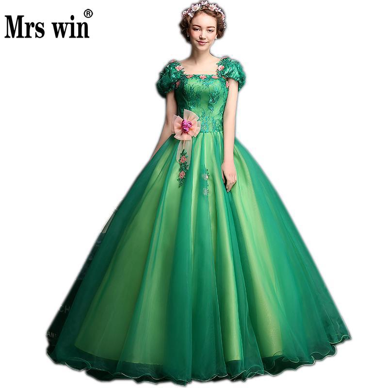 Quinceanera Dresses 2019 New The Elegant Short Sleeve Sweet Pink Flower Floor-length Ball Gown Candy Color Party Prom Dress