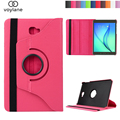 360 Rotating Litchi skin PU Leather case cover capa para for Samsung Galaxy Tab A 10.1 T580 T585 Tablet PC cover