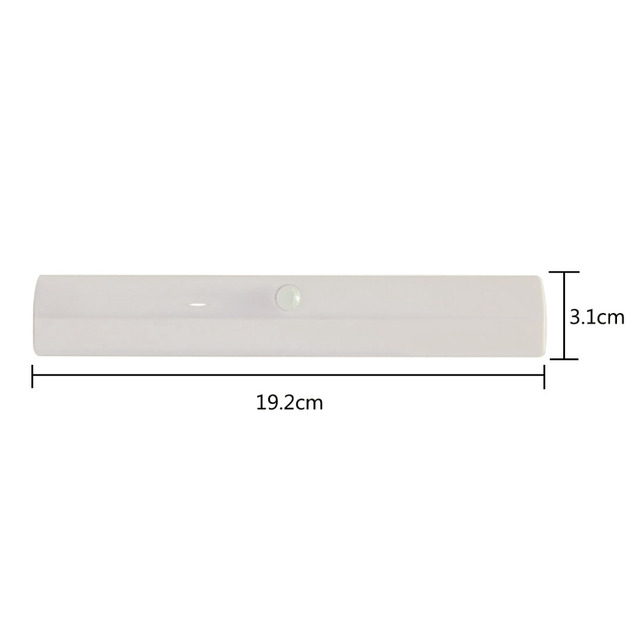 Mini Infrared Motion Sensor Night Light 10 LED Wireless Cabinet Closet Night Light Emergency Wardrobe Night