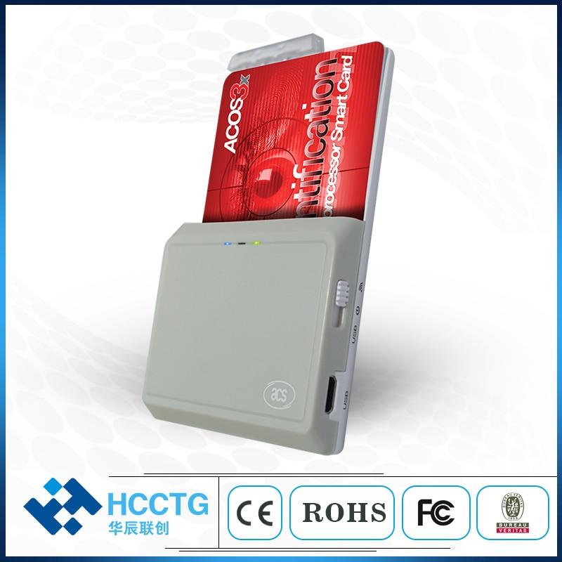13.56 mhz Externe Android USB et Bluetooth rfid lecteur de cartes-ACR3901