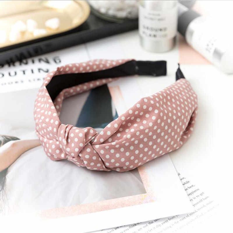 Womens Headband Twist Hairband Bow Knot Cross Tie Velvet Headwrap Hair Band Hoop Hair Accessories