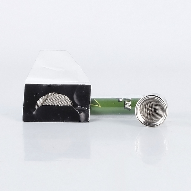 COSY MOMENT Metal Pipe Jamaica Rasta Herb / Tobacco / Smoking Pipes Portable Water Pipe Shisha Hookah Cigarette Cigar Tube YJ006