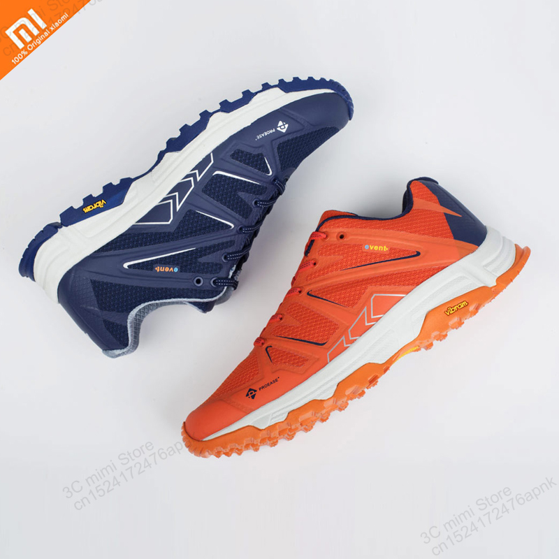 Original Xiaomi Mijia 4 Colors Proease Forest Waterproof V Bottom Outdoor Running Shoes Wet Non-slip Waterproof Sports Shoes