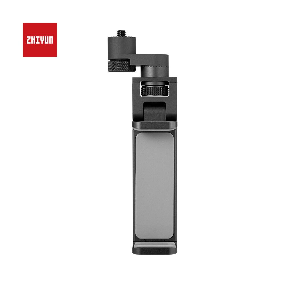 Original ZHIYUN cardan stabilisateur de poche Clip support pour téléphone avec couronne pour Weebill Lab/grue 3 accessoires de stabilisateur de laboratoire
