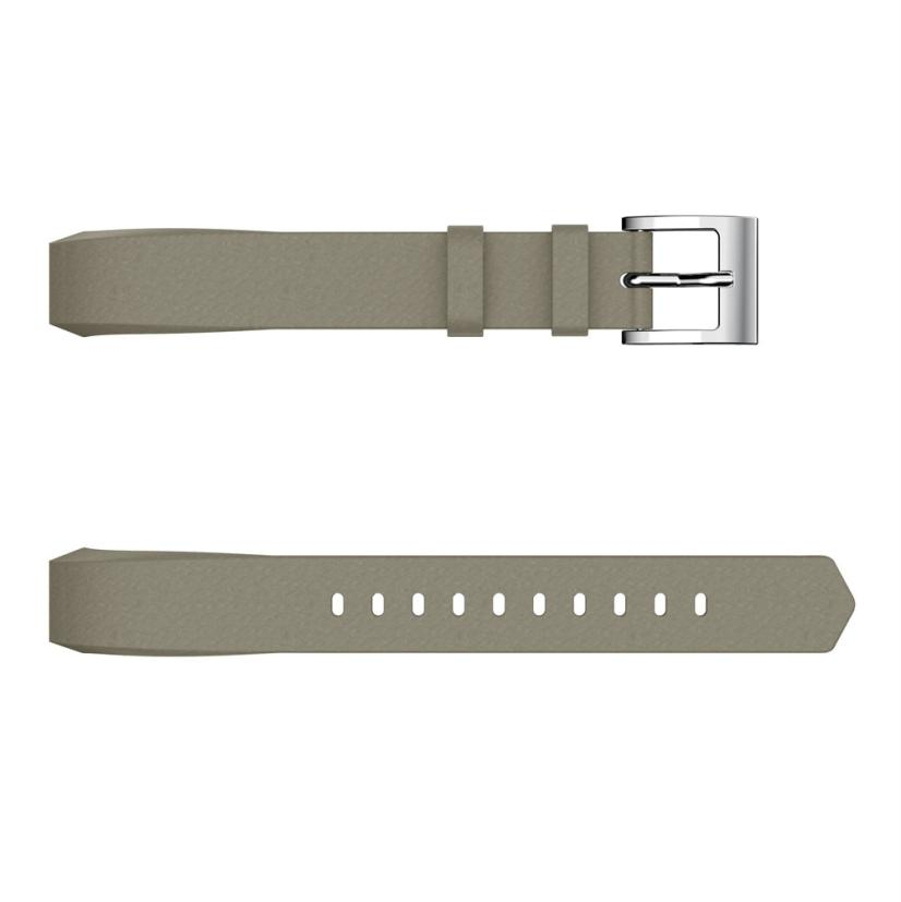 Hiperdeal Classic Leather Replacement Bands With Metal Connectors For Fitbit Alta/Alta HR Dropshipping May 21