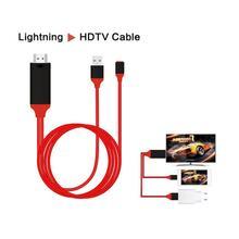 8 Pin to HDMI Cable HDTV TV Digital AV Adapter USB HDMI 1080P Smart Converter Cable for Apple tv For iPhone X 8 7 Digital Cable vention hdmi cable 2m usb to hdmi converter cable for iphone 8 pin to hdmi digital av cable for iphone 7 6s android support hdtv