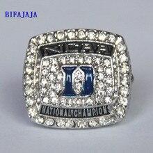 Drop Shipping Replica NCAA 2010 Championship Rings Duke Blue Devils Mike Krzyzewski Basketball  Big Size 11 men Sport Jewelry