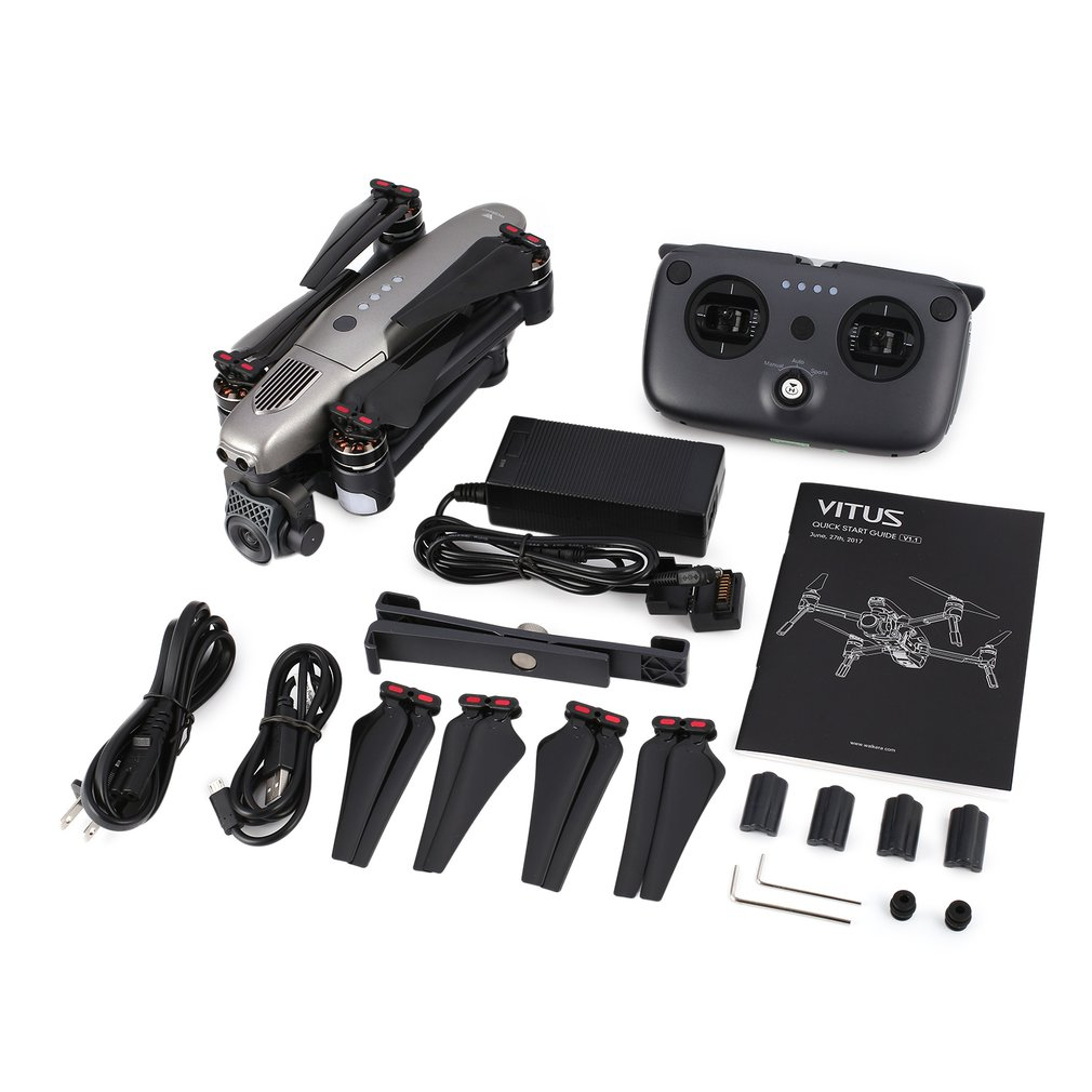 High Quality Walkera VITUS 320 RC Drone 5.8G Wifi FPV 4K Camera Selfie Quadcopter AR Drone Games Obstacle Avoidance