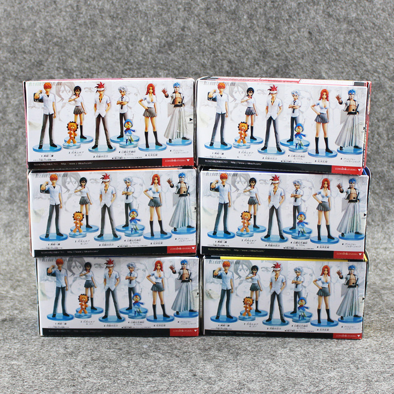 Bleach Action Figures for sale Box Back