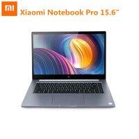 Оригинальный Xiaomi Mi Тетрадь Pro 15,6 дюйма Windows 10 Intel Core I5/I7 четырехъядерный ноутбук 1,8 ГГц 256 ГБ SSD распознавания отпечатков пальцев