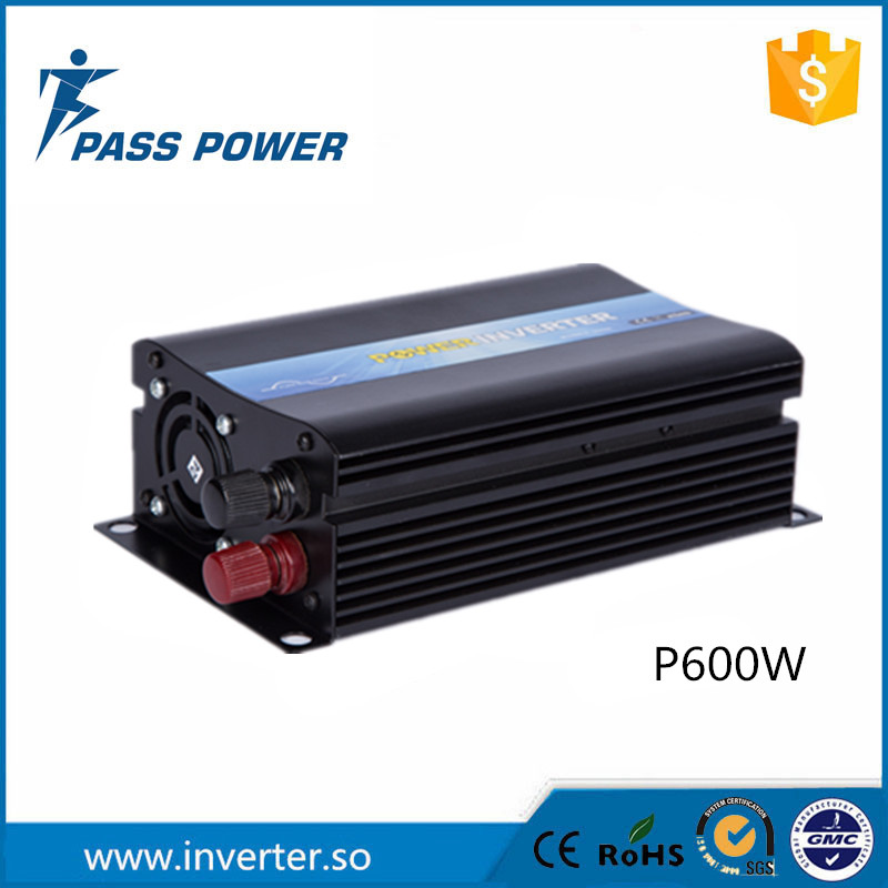 Factory Sale ! Pure Sine Wave Off Grid Power Inverter 12V 24V 48V to 220V 600WFactory Sale ! Pure Sine Wave Off Grid Power Inverter 12V 24V 48V to 220V 600W