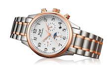 2016 Горячие Продажа 1 ШТ. Модные мужские Механические Часы Из Нержавеющей Стали Наручные часы красивый ИЮНЯ 8