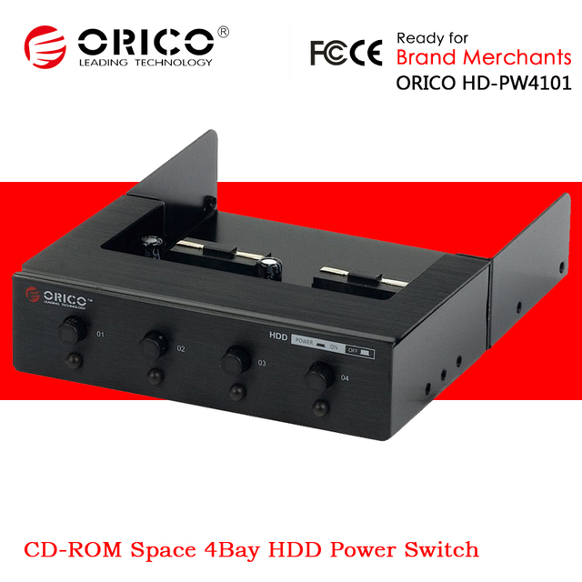 orico hd pw4101 4bay hdd hard disk drive power switch switcher