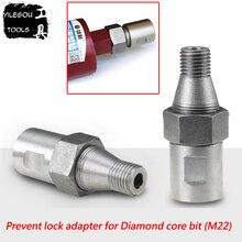 Предотвращает блокировку адаптера для алмазной коронки. Алмазное сверло адаптер предосторожности замок алмазное сверло. Нить: M22