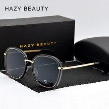 2fa8cffa5 2019 نجمة النساء العلامة التجارية مصمم النظارات الشمسية الكبيرة إطار خمر  مكبرة نظارات شمسية مستقطبة الأزياء عدسة oculos masculin.