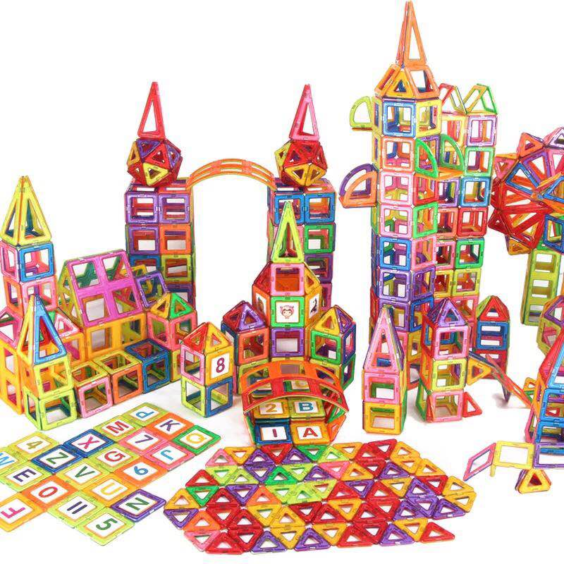 Magnetic Constructor Blocks DIY Mini Educational Sets Models Building ABS Magnet Designer boys kids toddler Toys Christmas Gifts
