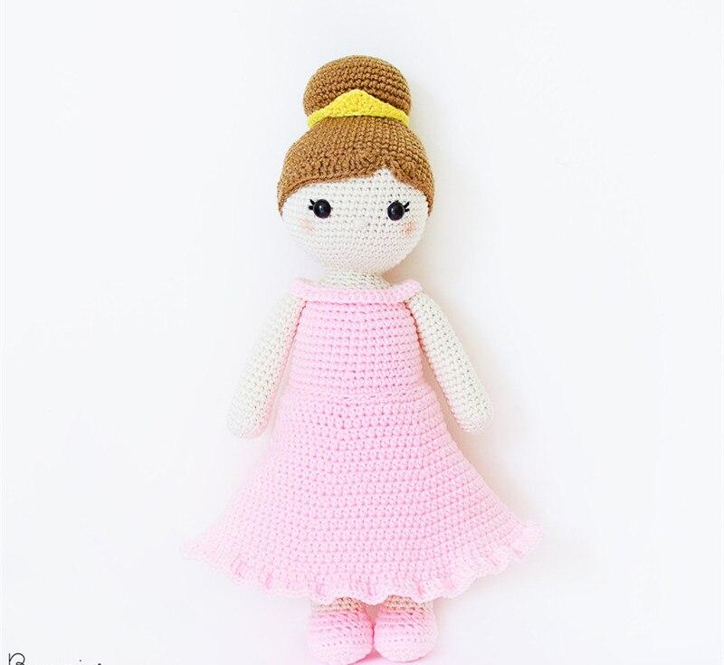Crochet princess amigurumi pattern | Amiguroom Toys | 735x800