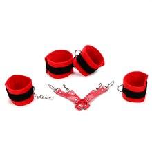 Sex Products 11 Pcs/Set BDSM Bondage Set Leather Fetish Adult Games Sex Toys for Couples Slave Game SM Product Collar Eye Mask