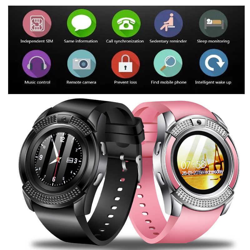 LIGE 2019 New Smart Watch Men Fashion Sports Pedometer Clock Fitness Watch Information Reminder Support sim card Relogio +Box