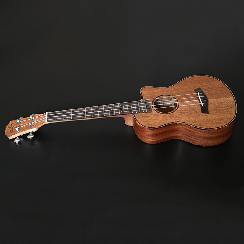Mahogny wood top concert nylon ukulele Guitar and side 23 inch and 26 inch ukulele tenor musical instrument free shipping magnum live in concert