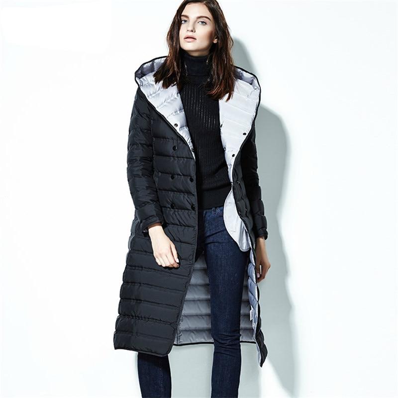 Aliexpress.com : Buy Luxury Winter 2017 Ladies Coats Ultra Light Puffer Long Winter Coat Women