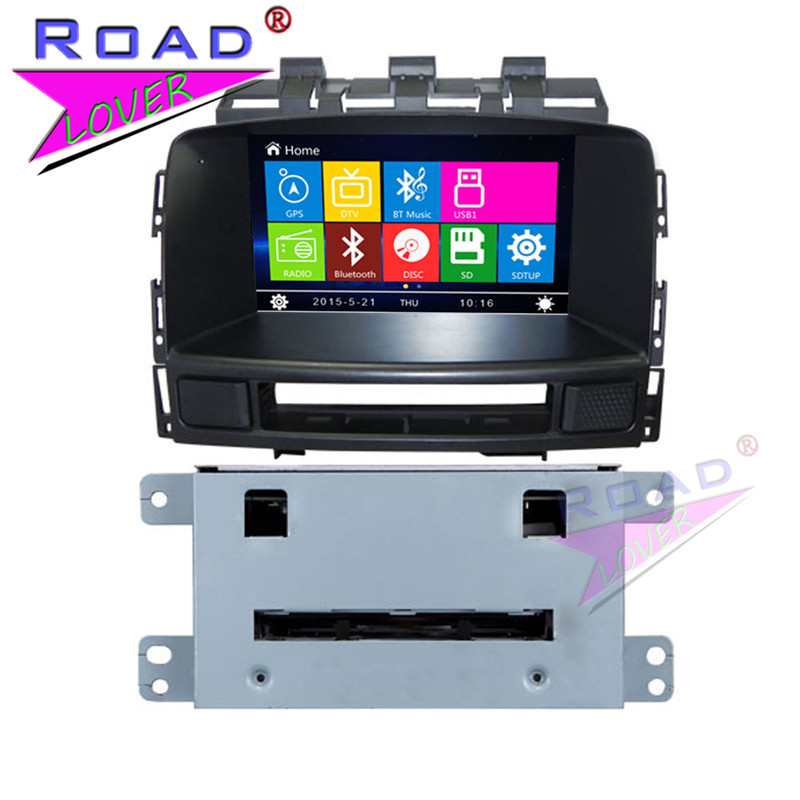 TOPNAVI Wince 6.0 7 Two Din Car Media Center DVD Player Auto Audio For Buick Excelle XT 2013 Stereo GPS Navi GPS Bluetooth MP3