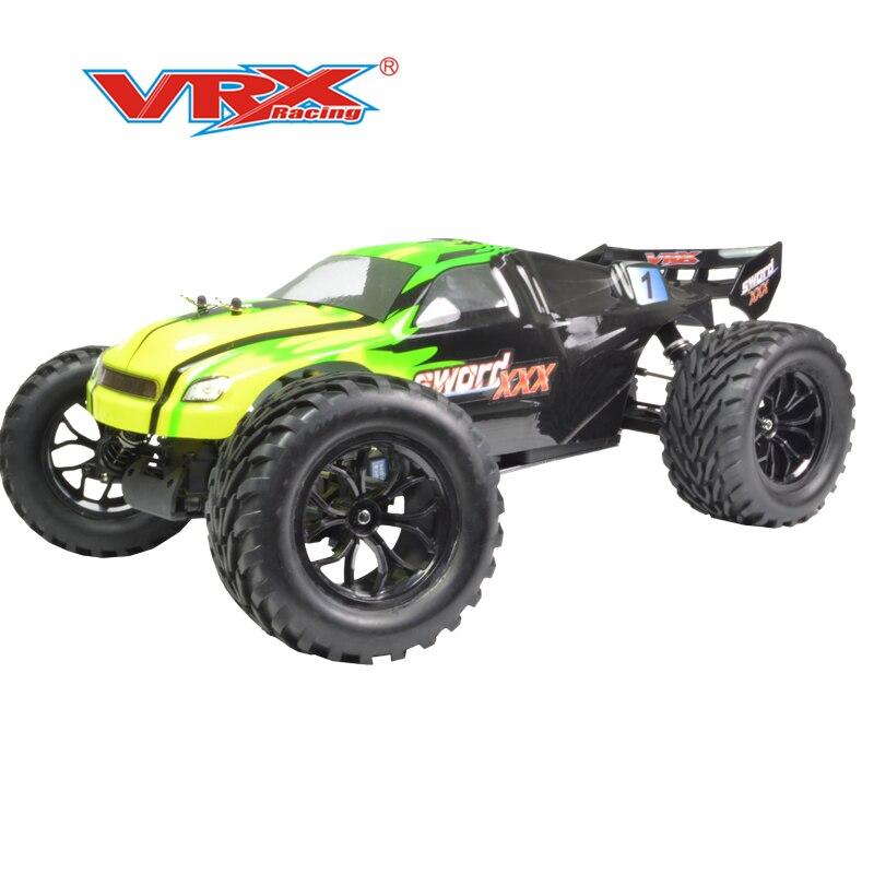 Remote control car rc 4WD VRX Racing SWORD XXX N2 RH905 1 10 nitro truggy model