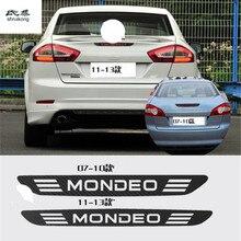 Углеродного волокна наклейки высоко расположенных стоп лампы высокого стоп-сигналы для Ford Mondeo 2007-2010 и 2011 -2013