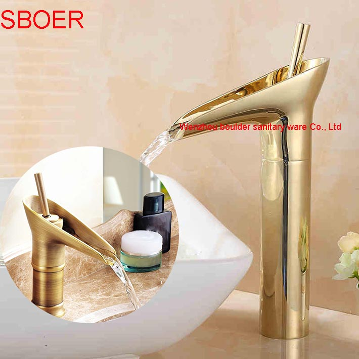 ФОТО Various Bathroom gold antique chrome Nickel Brushed White Basin Faucet Brass Mixer Tap with ceramic torneiras para banheiro