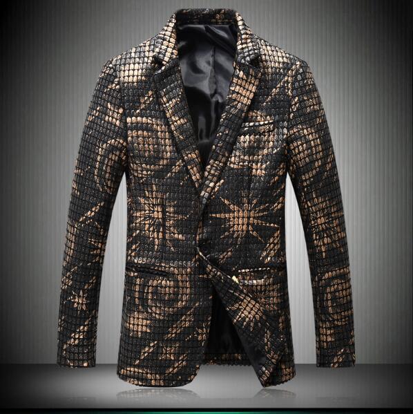 Popular Gold Blazer for Men-Buy Cheap Gold Blazer for Men lots ...
