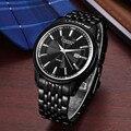 Curren 8052 Herren Uhren Top Brand Luxus Schwarz Edelstahl Analog Quarz Uhr 2018 Mode Männer Sport Armbanduhren Relogios|Quarz-Uhren|Uhren -