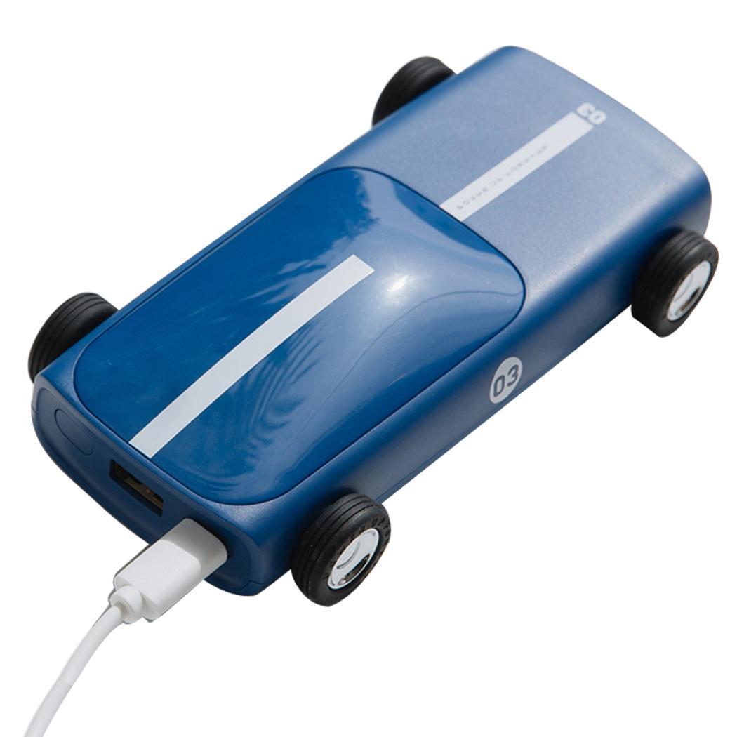 2019 New Car 10000mAh Mini Power Bank Portable Charger Powerbank For iPhone Xiaomi Mi 9 External Battery Pack Creative Poverbank
