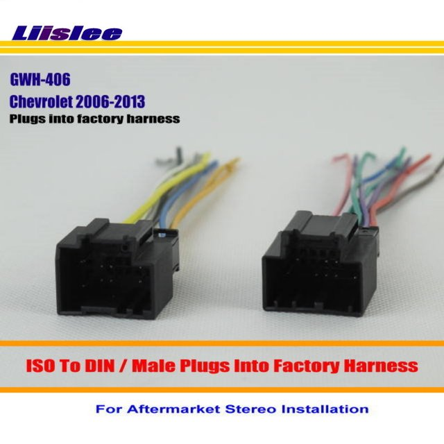 Liislee Car Wire For Saturn Aura Ion Outlook Sky Vue / Car Stereo
