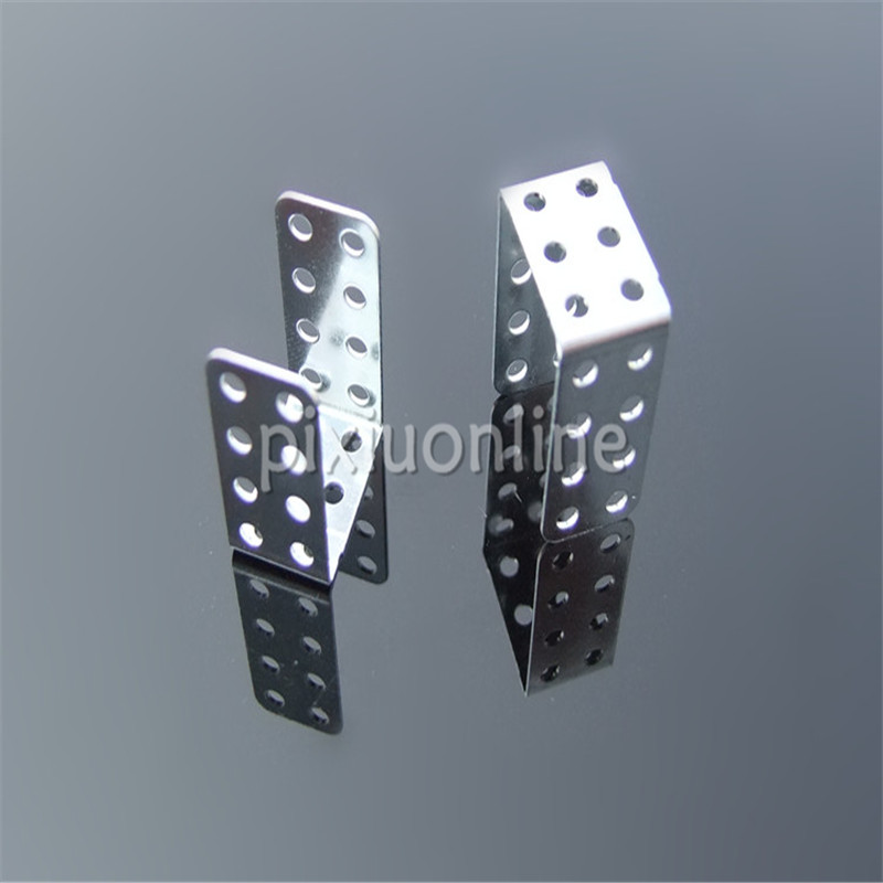 10pcs/pack K836 U-shaped 3 fold Iron Sheet with Multi-holes Motor Assemble Parts DIY Free Shipping Russia 10pcs lot k780 multi hole angle iron hole diameter 2 05mm for diy model making free shipping russia