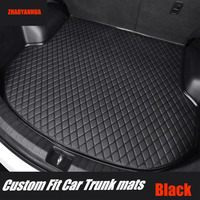 ZHAOYANHUA Car trunk mats for Infiniti EX QX50 EX25 EX35 EX37 Q50 G25 G35 G37 Q70 M25 M35 M37 Car styling carpet rugs liners