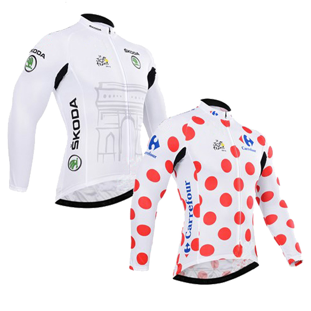 classic pro team Yellow white new long sleeve man cycling jersey wear bike Winter Fleece & no Fleece cycling clothing MTB цена